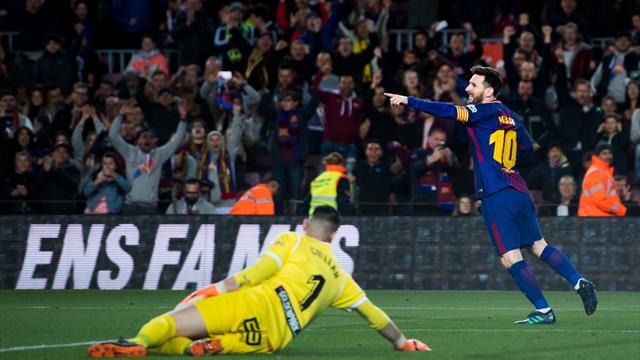 Un triplé de Messi, 38 matches sans défaite : la vie est belle pour le Barça