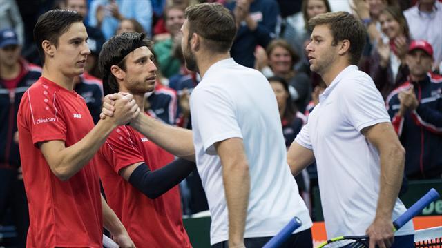 USA-Belgio 3-0: Harrison e Sock vincono il doppio, americani primi semifinalisti