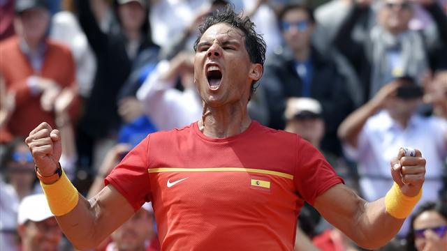Nadal donne rendez-vous en France pour la demie