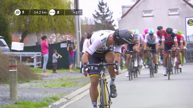 Sagan attacks with 53km to go in Paris-Roubaix