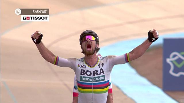 Sagan sprints to stunning 2018 victory in Roubaix velodrome