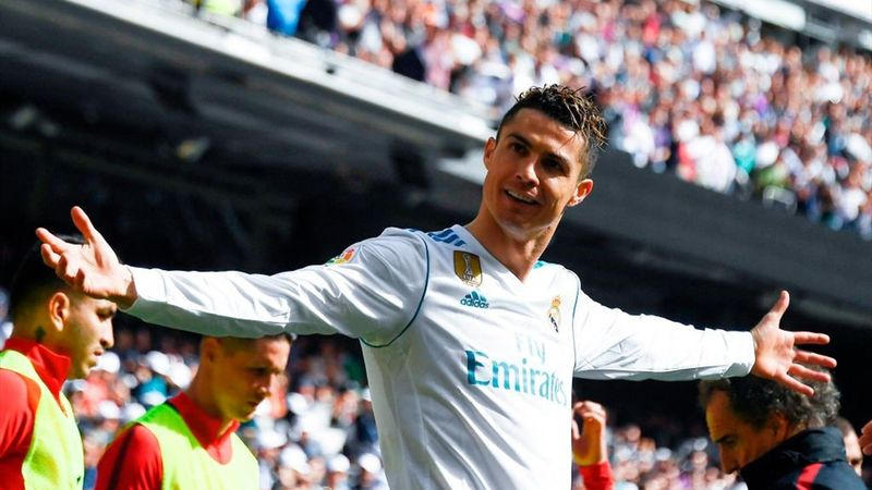 Ronaldo - Real Madrid-Atlético Madrid - Liga 2017/2018 - Getty Images