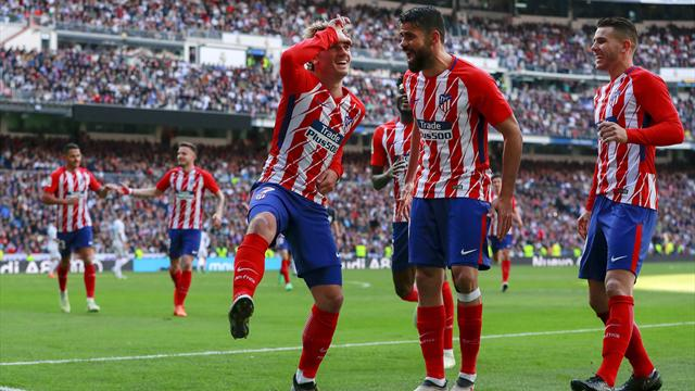 Atletico hit back to earn draw with Real Madrid