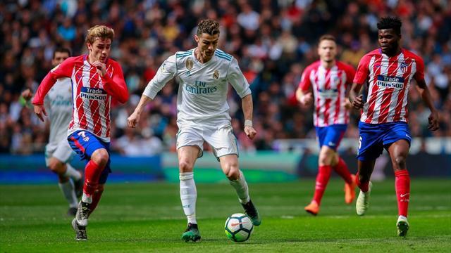 Il Real Madrid non riesce a battere l'Atlético: 1-1, Ronaldo sostituito per precauzione