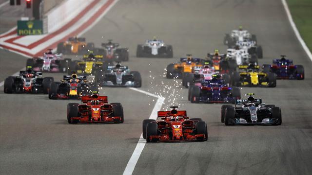 """Mamma Mia!"" Vettel zittert sich zum Bahrain-Sieg"
