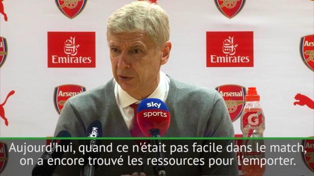 Wenger : «Fier de l'attitude de mes joueurs»