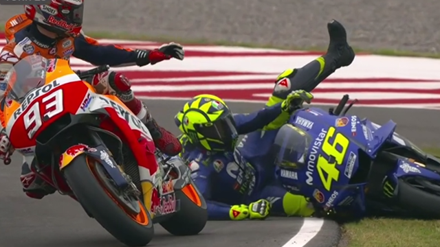 Rossi: Marquez has 'destroyed our sport'