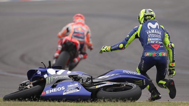 Rossi - Marquez, une brouille vieille de trois ans