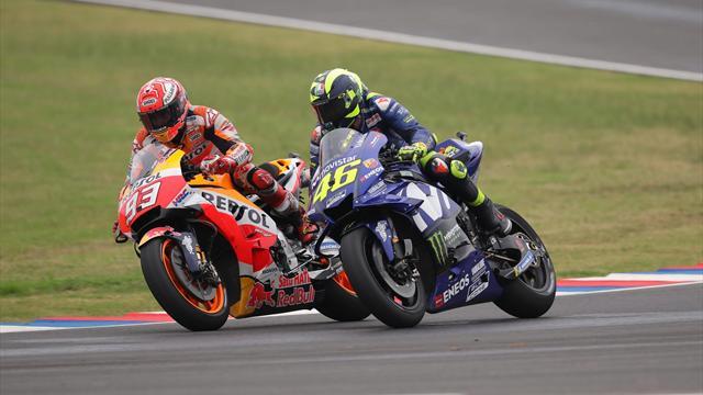 """Marquez: """"Valentino Rossi è un pilota come gli altri, non cambierò il mio modo di correre"""""""