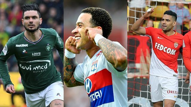 Cabella, Depay, Falcao… Votez pour le meilleur joueur de la 32e journée de Ligue 1