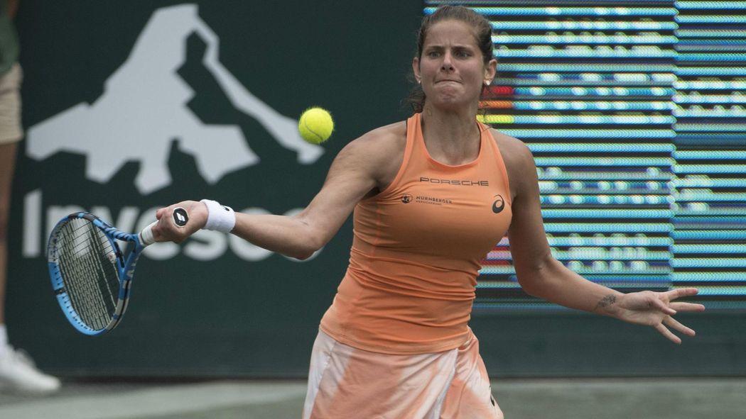 Wta Turnier Charleston Julia Gorges Verliert Finale Gegen Kiki