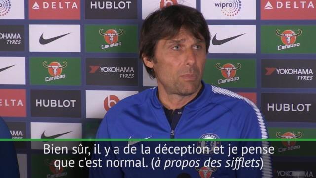 Conte : «Il y a de la déception et c'est normal»
