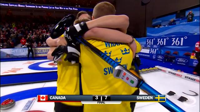 Schweden wieder Curling-Weltmeister