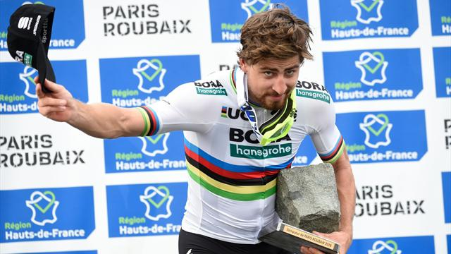 Advent Calendar: Watch Sagan's brilliant Paris-Roubaix win... and his hilarious trophy moment