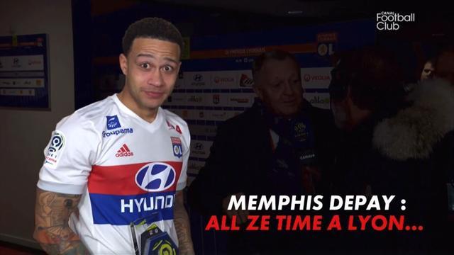 Annoncé à Lyon «pour toujours» par Aulas, Depay a fait une drôle de tête