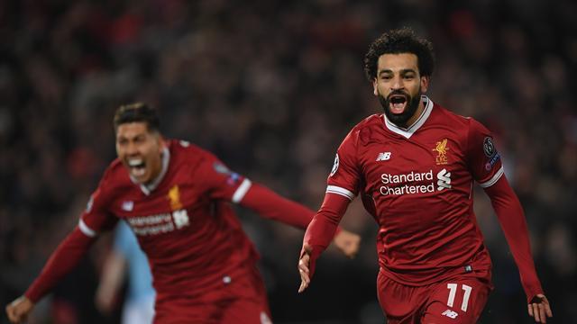 Un piqué de Salah et les Reds s'ouvrent les portes des demies : l'égalisation de Liverpool en vidéo
