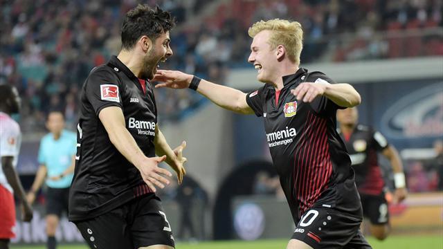 Volland met Leverkusen à la hauteur de Dortmund