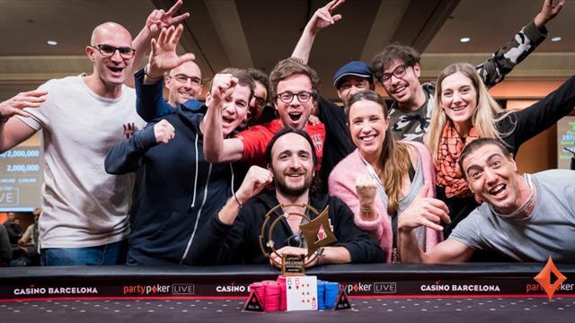Les stars du circuit sur le PartyPoker Millions Barcelona