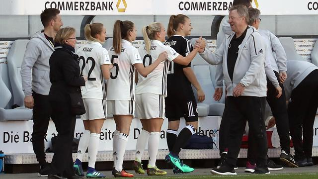 DFB-Frauen setzen Aufwärtstrend unter Hrubesch fort