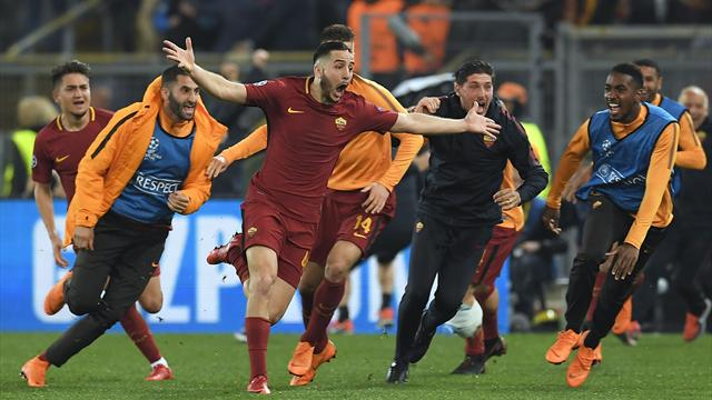 Barcelona knocked out by astonishing three-goal Roma comeback