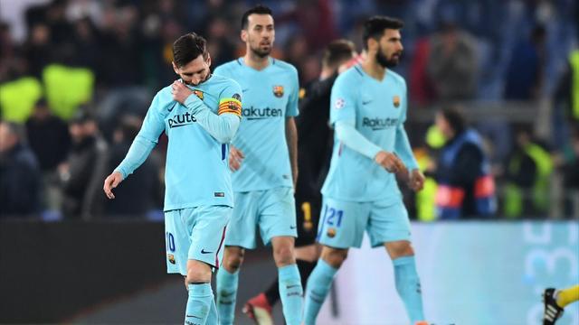Champions League (Cuartos, vuelta), Roma-Barcelona: Lo imposible (3-0, global 4-4)