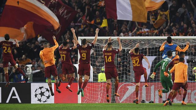 «Рома» поздравила «Барселону» с рекордной серией в чемпионате. Сезон троллинга открыт