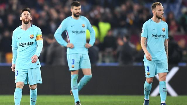 L'antisèche : Le Barça a oublié d'être lui-même, la Roma en a profité