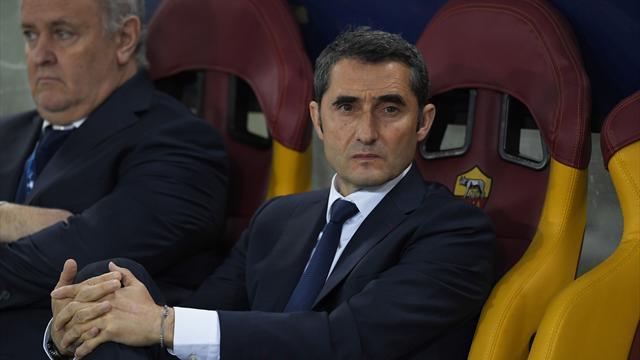Clément Turpin au sifflet de Roma-Barça