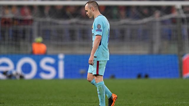 Roma refuse to surrender against Barcelona