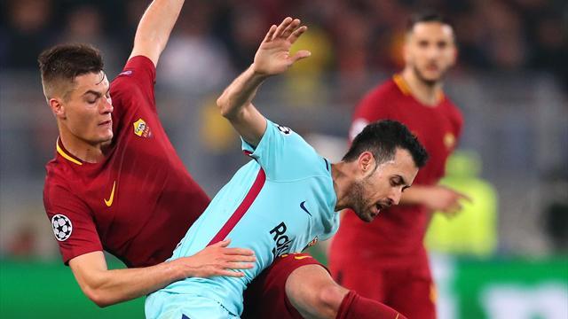 «Рома» выбила «Барселону» изЛиги чемпионов