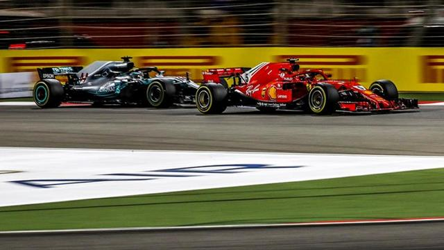 Hamilton va por el podio del GP de China