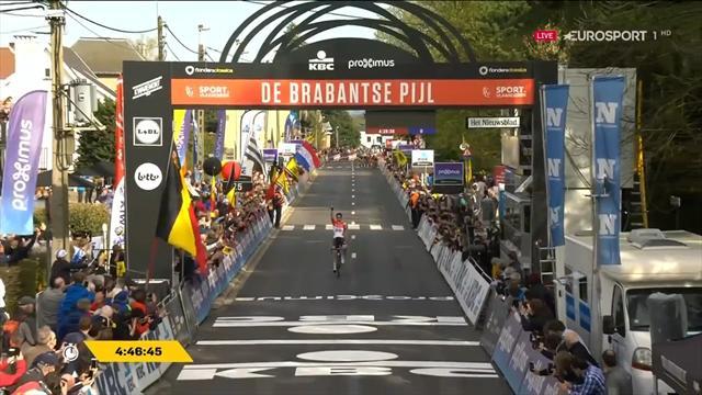Tim Wellens een klasse apart en wint Brabantse Pijl