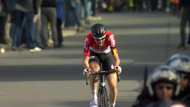 Tim Wellens holds on to complete solo win in emotional Brabantse Pijl Classic