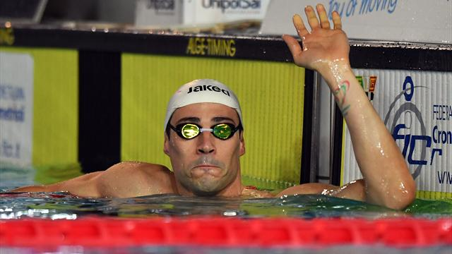Intramontabile Fabio Scozzoli! Argento nei 50 rana dietro il fulmine Adam Peaty