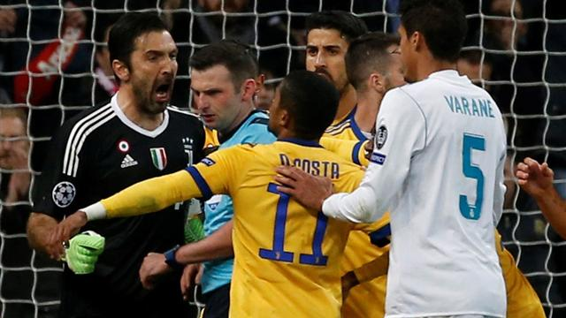 Buffon blasts referee Michael Oliver: 'You cannot have a heart in your chest, but a garbage bin'