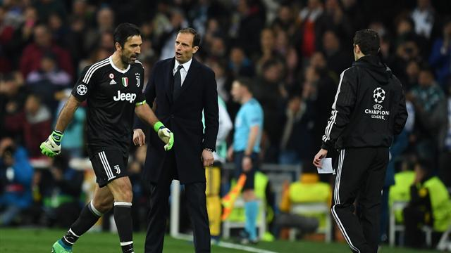"Allegri : ""Madrid a fait du bien à Buffon"""