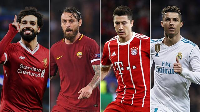Reds host Roma, as Real and Bayern go head-to-head