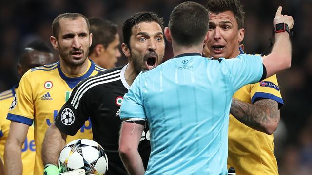 Buffon n'en démord pas : «Un arbitre plus expérimenté n'aurait pas sifflé»