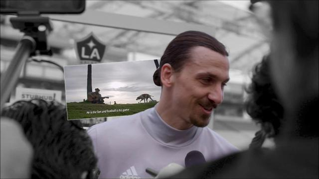 Exklusivt: Möt Zlatan Ibrahimovic i Los Angeles