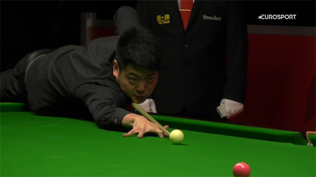 Wenbo makes 147 during qualifiers