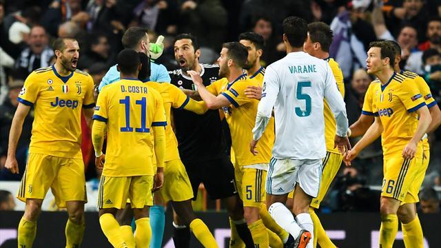 L'ira di Buffon contro l'arbitro Oliver divide i tifosi bianconeri sul web