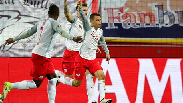Et Salzburg a renversé la Lazio en quatre minutes !