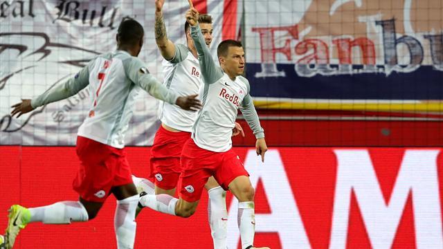 Salzburg goleó 4-1 a Lazio y lo eliminó — Otra remontada histórica