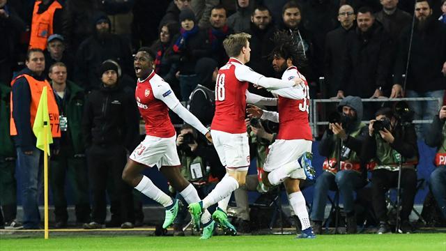 Arsenal yarı final biletini aldı