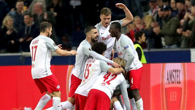 Lazio kollapsade mot Salzburg