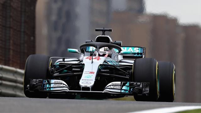 Hamilton domina la scena delle prime libere con le soft, Raikkonen secondo