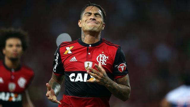 Médico de Flamengo explicó estado físico del atacante peruano — Paolo Guerrero