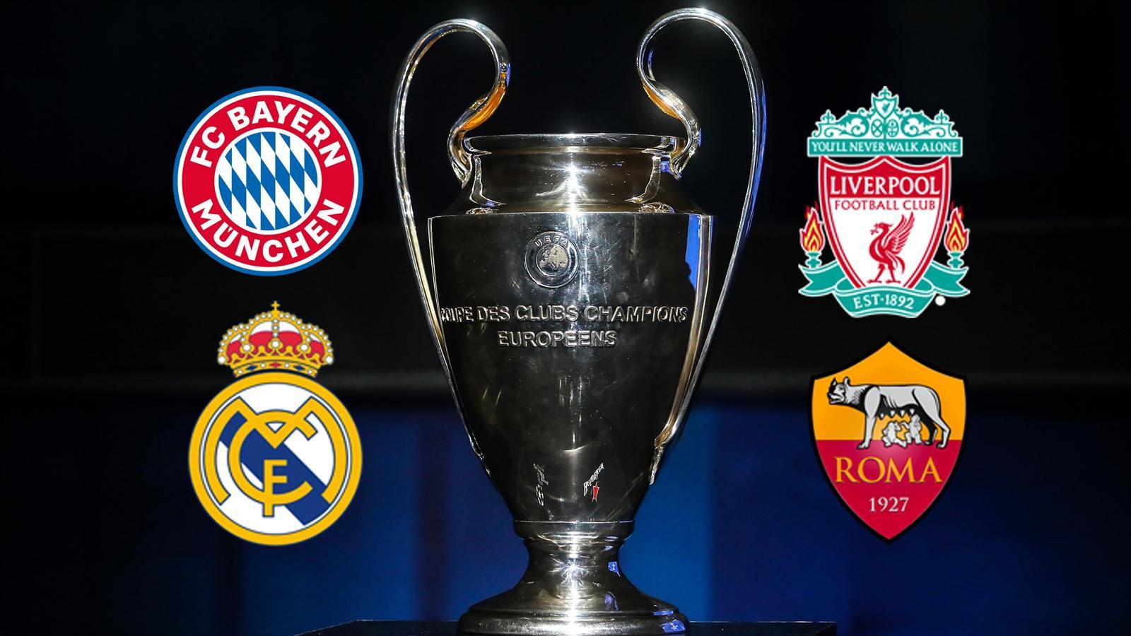 Champions League semi-final preview: Liverpool v Roma, Bayern Munich v Real Madrid - Team news ...