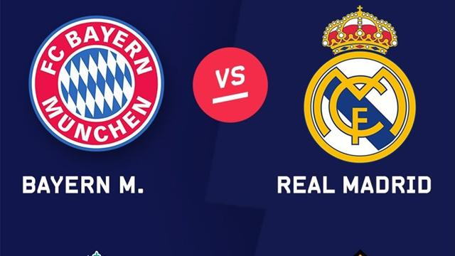 Champions League: Bayern-Real Madrid y Liverpool-Roma, cruces de semifinales