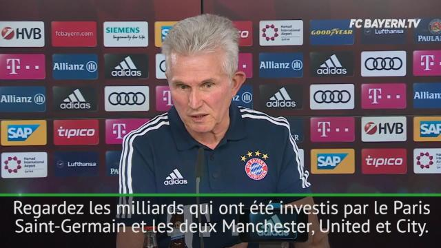Heynckes s'en prend (encore) au PSG : «Vous ne pouvez pas acheter la Ligue des Champions»